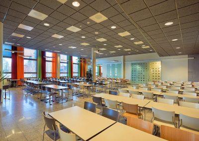 Lempoisten koulun laajennus / korjaus - ruokasali / tilasuunnittelu