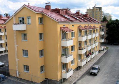 Kalevan TVA -perhetalot - täydennysrakentaminen, ullakkoasunnot