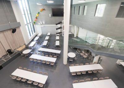 Urjalan yhtenäiskoulun uudisrakennus - ruokasali