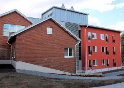 Härmälän saunan laajennus erityisasunnoiksi