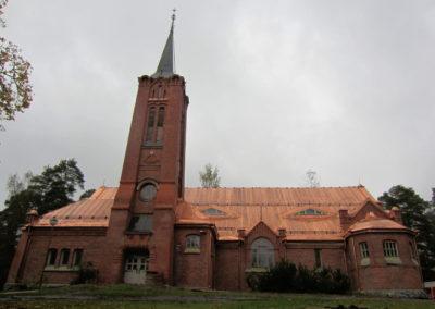 Kylmäkosken kirkon uusi kuparikatto