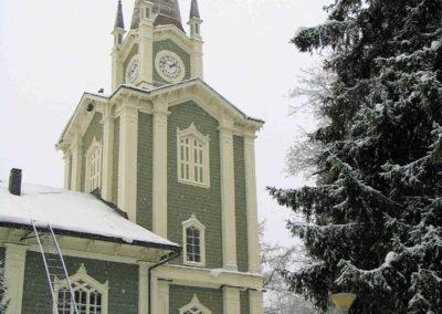Urjalan kirkon maalaus